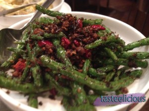 Stir-fried String Beans with Minced Pork in Chilli Sauce