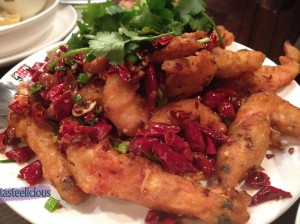 Deep fried Soft Shell Prawn with Chilli