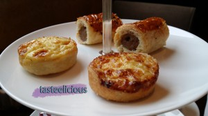 Quiche Bacon Onion Cheese & Sausage Roll Puff Pastry